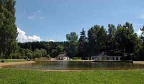 Das Naturbad im Ortsteil Sohl