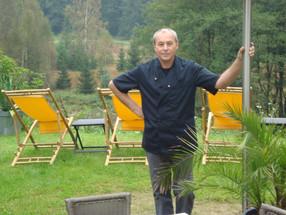 Die Bade- und Saunalandschaft in Bad Elster ist sein  Lieblingsort: Peter Kostek