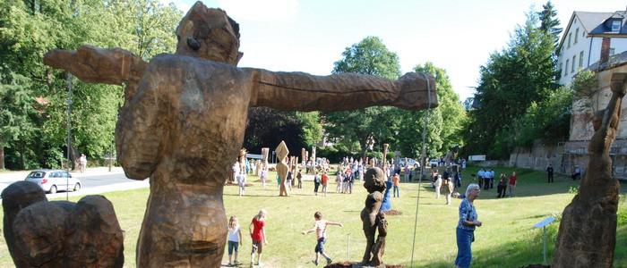 Der Skulpturenpark Bad Elster